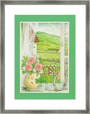 A Lucky View Framed Print by Lynn Bywaters