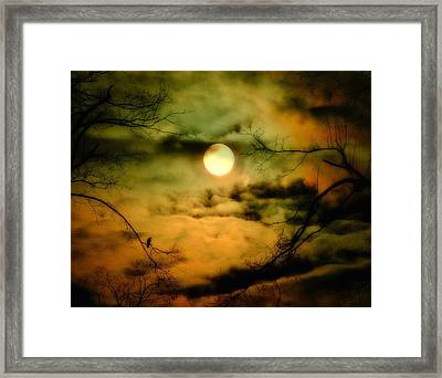 A Lunar Night Framed Print by Gothicrow Images