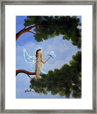 A Magical Daydream Original Artwork Framed Print by Shawna Erback