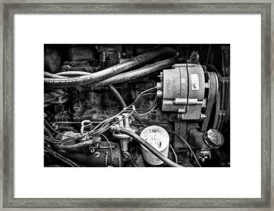 A Mechanic's View Framed Print by Jeff Burton