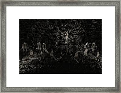 A Meeting Of Souls Framed Print by CJ Schmit