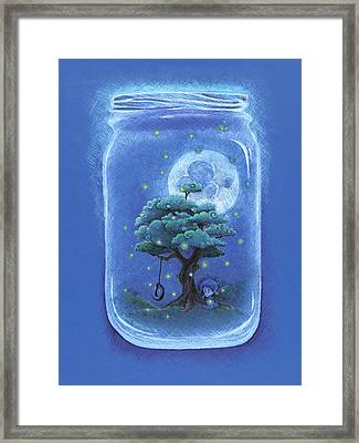 A Memory Jar Framed Print by David Breeding