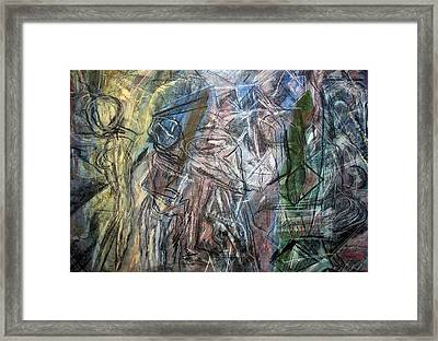 A Microcosm Of Life Framed Print by Sharon Farrah