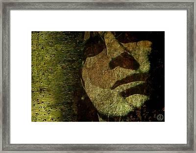 A Minute Of Reflection Framed Print by Gun Legler
