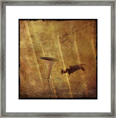 A Mirage Of Music Framed Print by Suzy Norris