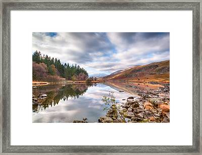 A Mirror Image Framed Print by Christine Smart