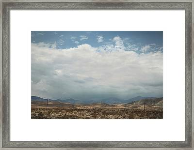 A Mix Of Emotions Framed Print by Laurie Search