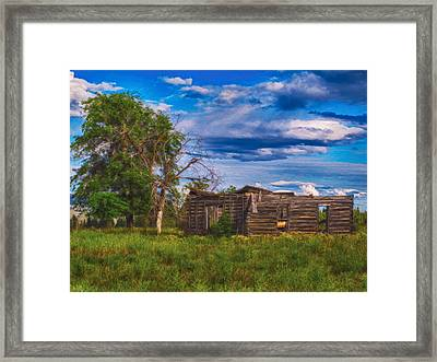 A Moment In Time Framed Print by Omaste Witkowski