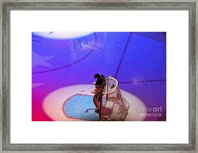 A Moment Framed Print by Jay Nodianos