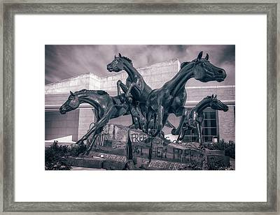 A Monument To Freedom II Framed Print by Joan Carroll