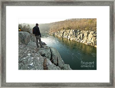 A Morning At Mathers Gorge Framed Print by Benjamin Reed