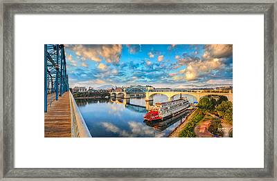 A Morning View Framed Print by Steven Llorca