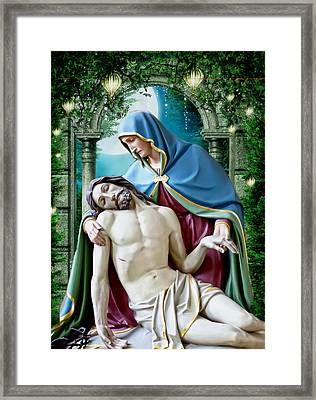 A Mother's Love 2 Framed Print by Karen Showell