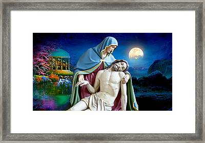 A Mothers Love Framed Print by Karen Showell
