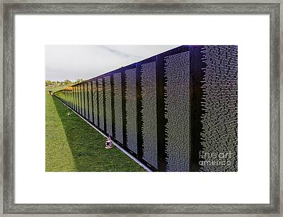 A Moving Wall Framed Print by Jon Burch Photography