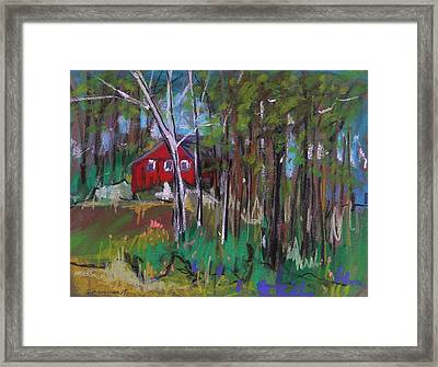 A New Coat Of Paint Framed Print by John  Williams