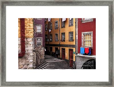 A New Day In Porto Framed Print by John Rizzuto
