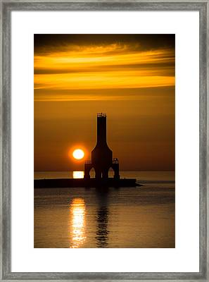 A New Day Framed Print by James  Meyer