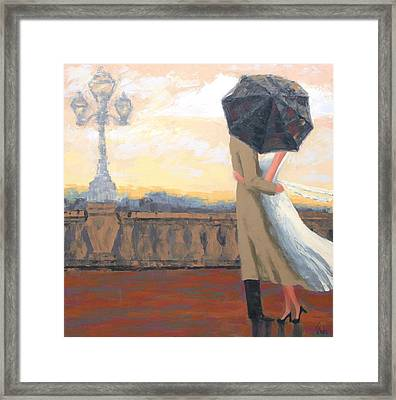 A New Day Framed Print by Thalia Kahl