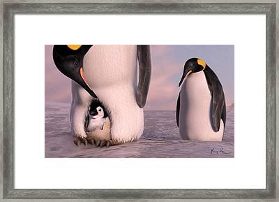 A New Family Is Born Framed Print by Gary Hanna