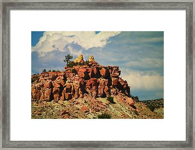 A New Mexico View Framed Print by Jeff Swan