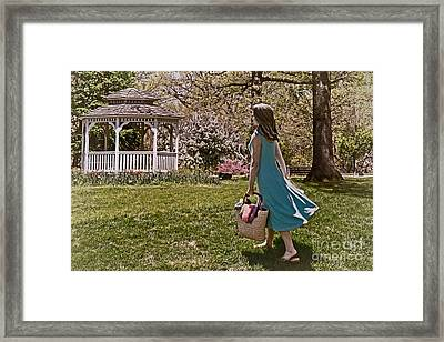 A Nice Day For A Picnic Framed Print by Tom Gari Gallery-Three-Photography
