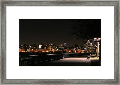 A Night In The Park Framed Print by JC Findley