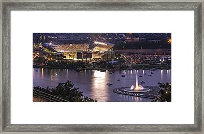 A Night On The Rivers Framed Print by Jennifer Grover
