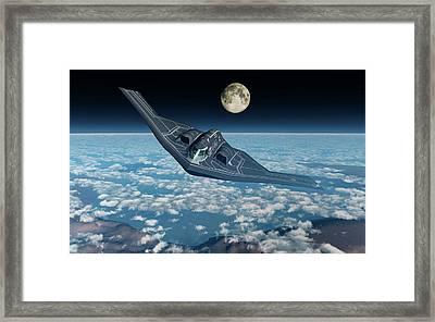 A North American B-2 Spirit Stealth Framed Print by Mark Stevenson