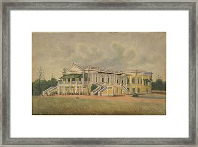 A Palladin Mansion Framed Print by British Library