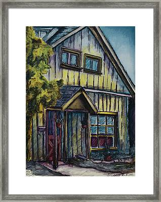 A Path To My House Framed Print by Jo-Anne Gazo-McKim