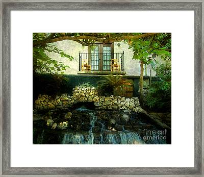 A Peaceful Night  Framed Print by Peggy  Franz