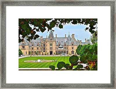 A Peek Through The Bushes Framed Print by Frozen in Time Fine Art Photography