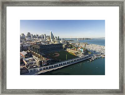 A Perfect Day On The Bay Framed Print by David Levy