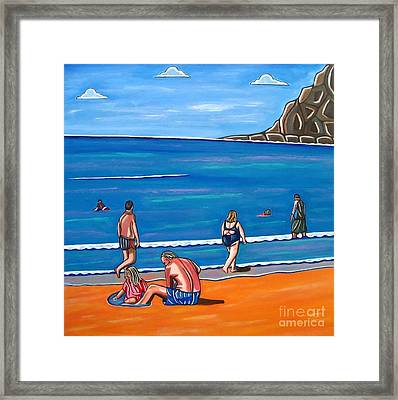 A Perfect Day Framed Print by Sandra Marie Adams