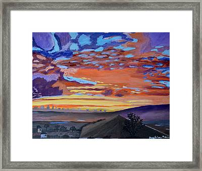 A Perfect Moment In Time Framed Print by Magdalena Frohnsdorff