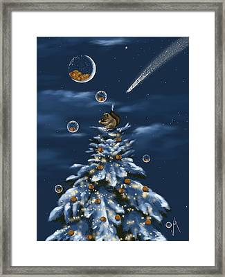 A Perfect Present Framed Print by Veronica Minozzi