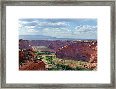 A Place Called Tseyi' Framed Print by Christine Till