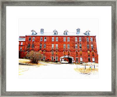 A Place Of Lost Dreams Framed Print by Marcia L Jones