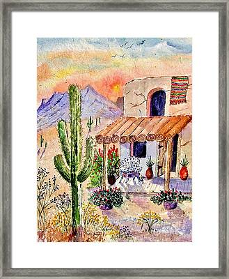 A Place Of My Own Framed Print by Marilyn Smith