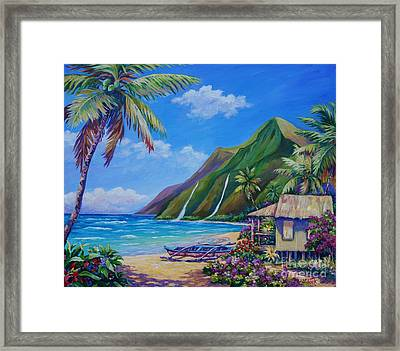 A Place To Play Framed Print by John Clark