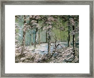 A Place To Shelter Framed Print by Jean Walker