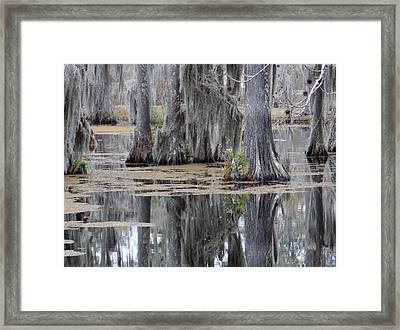 A Place To Sit And Listen Framed Print by John  Glass
