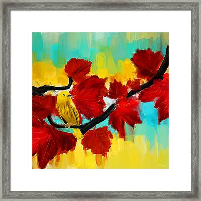 A Ponder Framed Print by Lourry Legarde