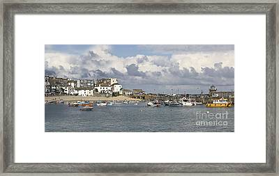 A Postcard From St Ives Framed Print by Terri Waters