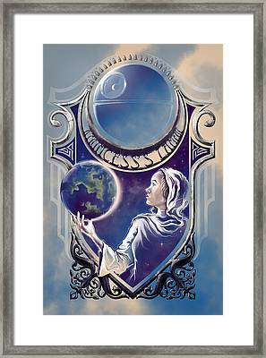 A Princess's Lament Framed Print by Vincent Carrozza