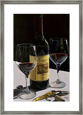 A Private Reserve Framed Print by Brien Cole