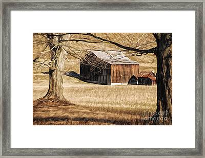 A Profession Of Hope Framed Print by Lois Bryan