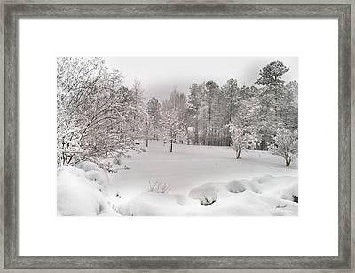 A Quiet Like No Other Framed Print by Paulette B Wright