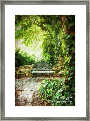 A Restful Retreat Framed Print by Lois Bryan